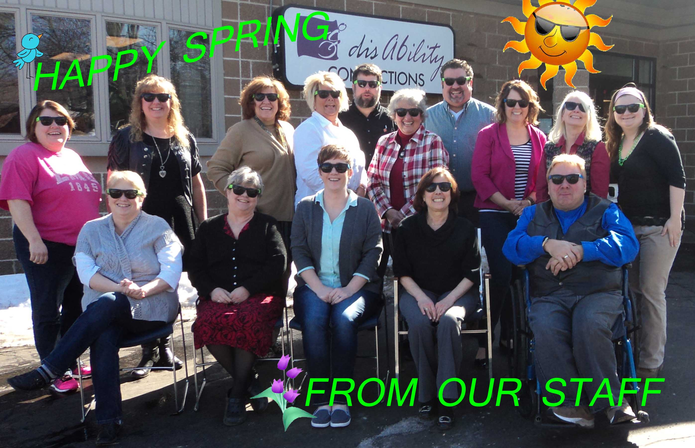 HAPPY SPRING FROM OUR STAFF
