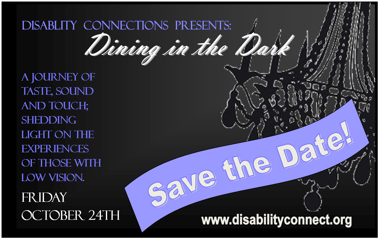 dining in the dark awareness dinner