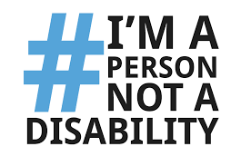 #I'm a person not a disability