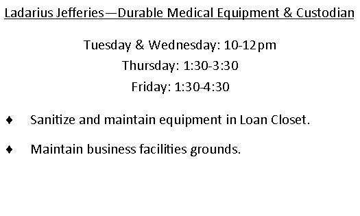 Ledarious Jefferies - Durable medical equipment